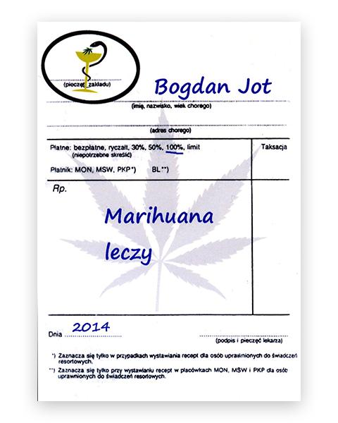 bogdan jot marihuana leczy