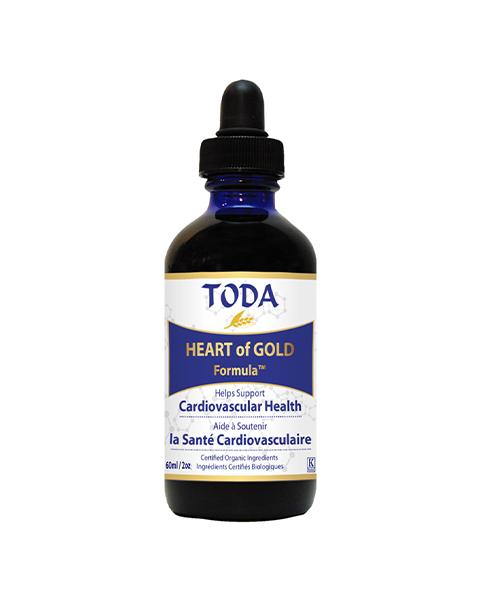 Krople TODA™ Herbal HEARTofGOLD Formula 60ml